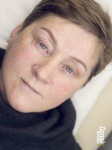 Перманентный макияж для женщины